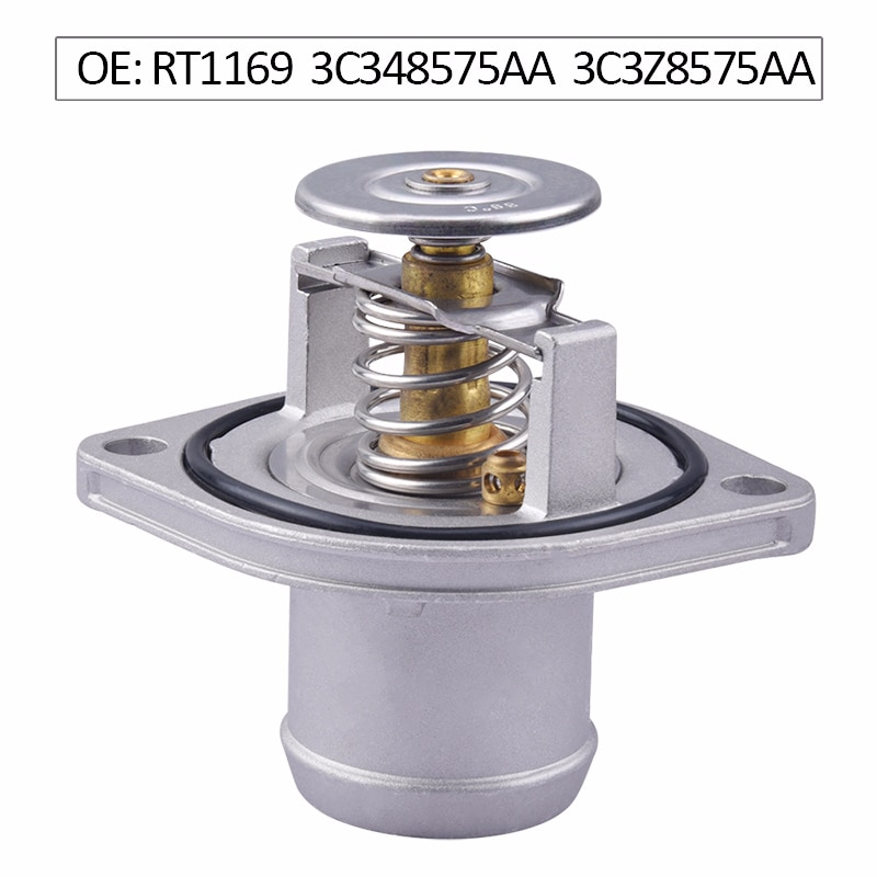 Termostato de refrigerante del motor 3C348575AA para Ford 6.0L Powerstroke Diesel F250 F350 F450 F550 piezas modificadas para coche