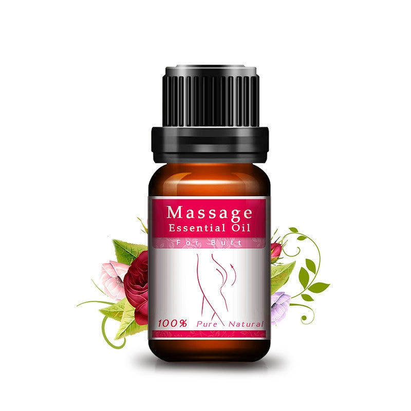 Купить с кэшбэком Hip Lift Butt Enlargement 100% Pure Natural Rose Fragrance Oil for Buttocks Up Massage Oil Body Care Essential Oil Butt magical