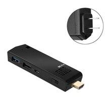 2021 New MINI PC Computer Stick I-ntel A-tom Z8350 Quad Core 1.44GHz 4GB/64GB TV Stick