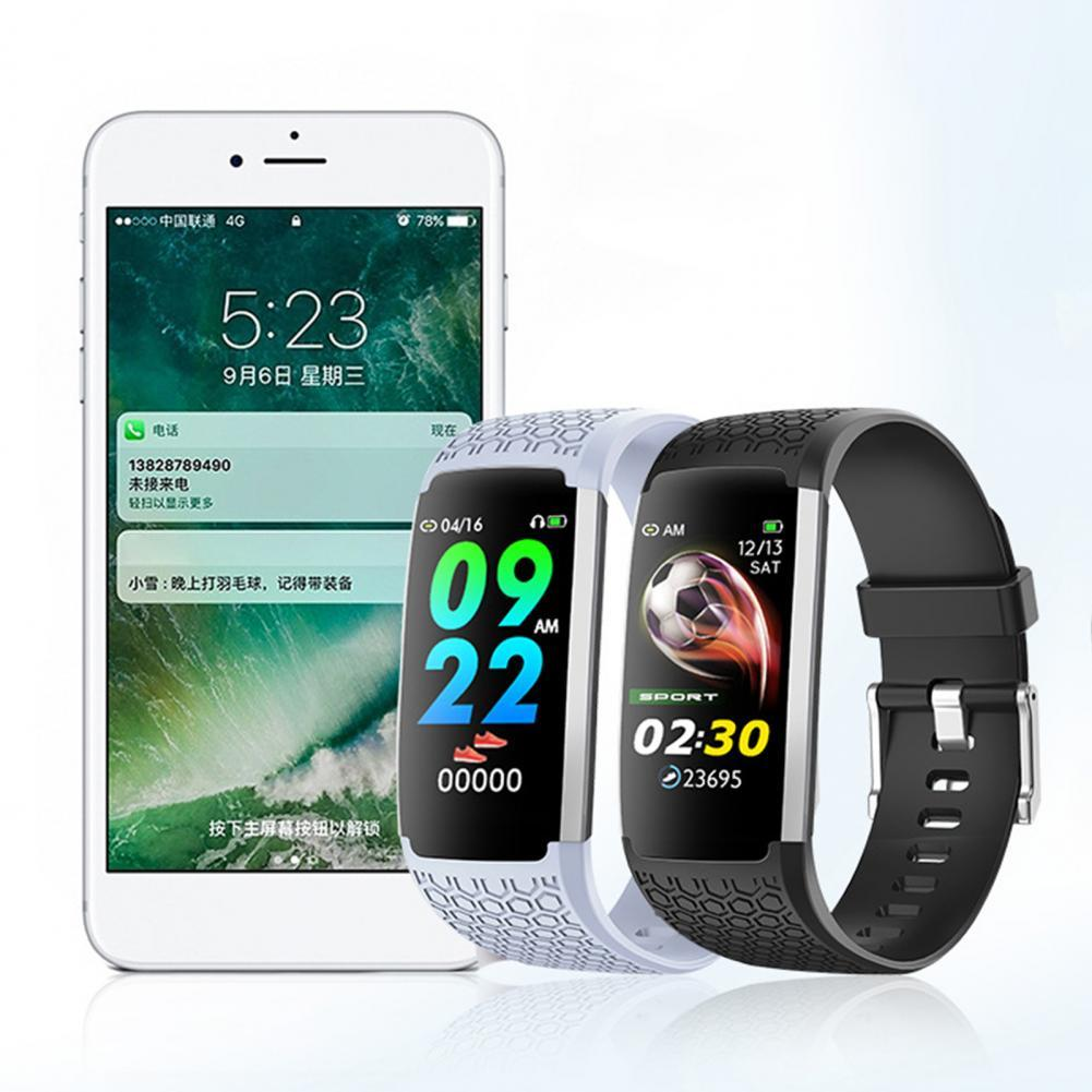 IP67  Smart Digital Watch Bracelet for Men Women with Heart Rate Monitoring Running Pedometer Calorie Counter Health Sport Trac