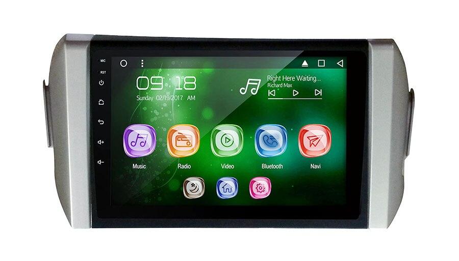 "Allways 9 ""pantalla IPS Android 9,0 Octa-core 2GB Ram Rom Multimedia para coche 32GB Toyota Innova (LHD) 2016-pantalla táctil completa"