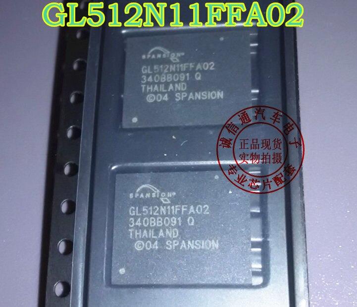 5PCS/lot S29GL512N11FFA02 GL512N11FFA02 512N11 car power amplifier vulnerable chip for BMW Audi changes Chinese / J794
