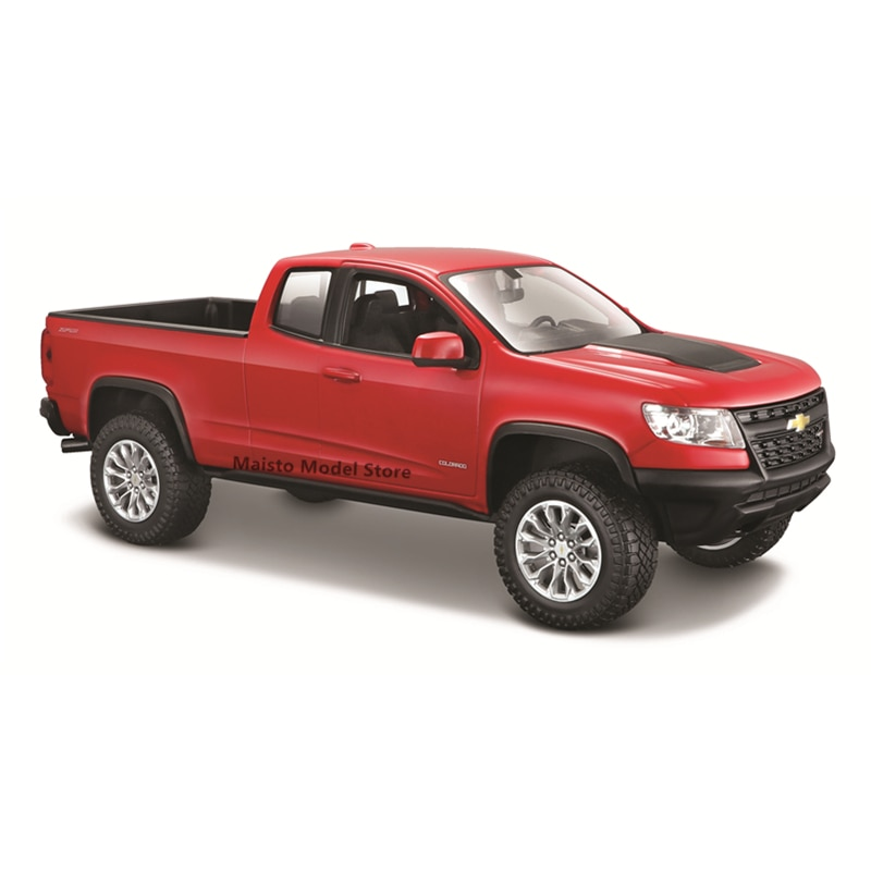 Maisto 1:25 2017 Chevrolet Colorado ZR2 edition Highly-detailed die-cast precision model car Model collection gift