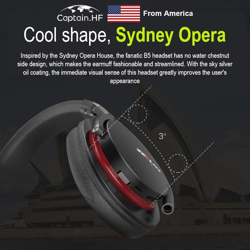 Zealot B5 Headphones with SD Wireless Headset Comfortable Headphones High Fidelity Hands-free Calls Stereo Music - Black enlarge