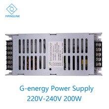 G-energy N200V5-A alimentation 5V 40A 200W LED panneau daffichage ultra alimentation 200-240V entrée ca fournisseur de puissance de commutation
