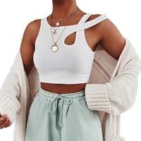 women crop tops clubwear short sleeve back lace up t shirt new white criss cross bodycon slim t shirt summer