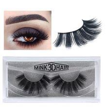 1Pair 3D Mink False Eyelashes Women Soft Slender Long Eyelashes Multi-layered Thick Handmade Lashes