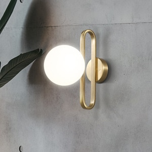 Modern Wall Lamp Nordic Led Ball Shape Ceative Lighting Fixtures Bedroom Bedside Living Room Background Decoration Sconce Lights