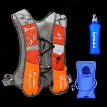 5L course hydratation sac à dos sac à dos gilet harnais vessie deau randonnée Camping Marathon course sport Orange
