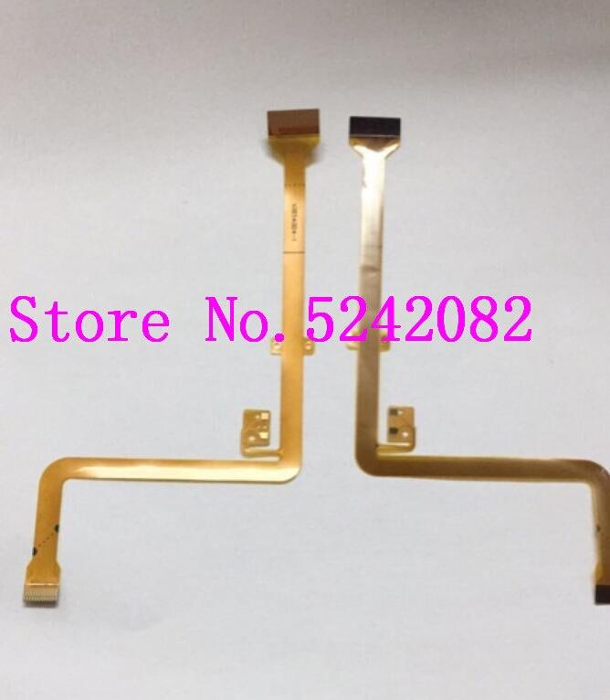 2 uds./Nueva Cable flexible de LCD para Panasonic Lumix para DMC-FZ30GK FZ30, reparación de vídeo, pieza de cámara