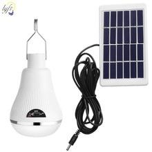 20 LED ampoule solaire extérieure étanche Portable solaire lumière suspendue projecteur Camping jardin lampe solaire