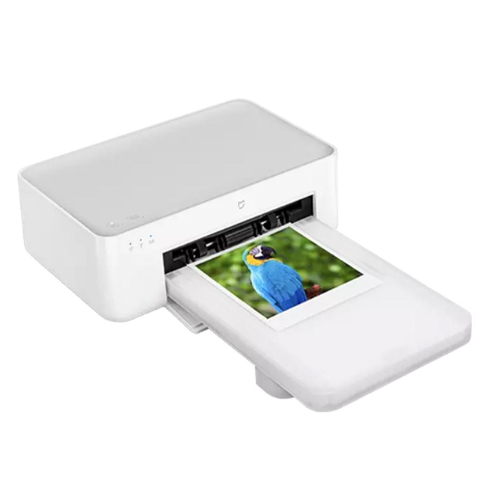 Get Xiaomi Mijia Photo Printer 1S High Definition Color Sublimation 6/3 Inch Portable Photo Paper Smart Remote Printer Mihome APP