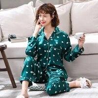 2021 female pajamas sets for women sleepwear home clothing pajama home mujer pyjamas set sleep set