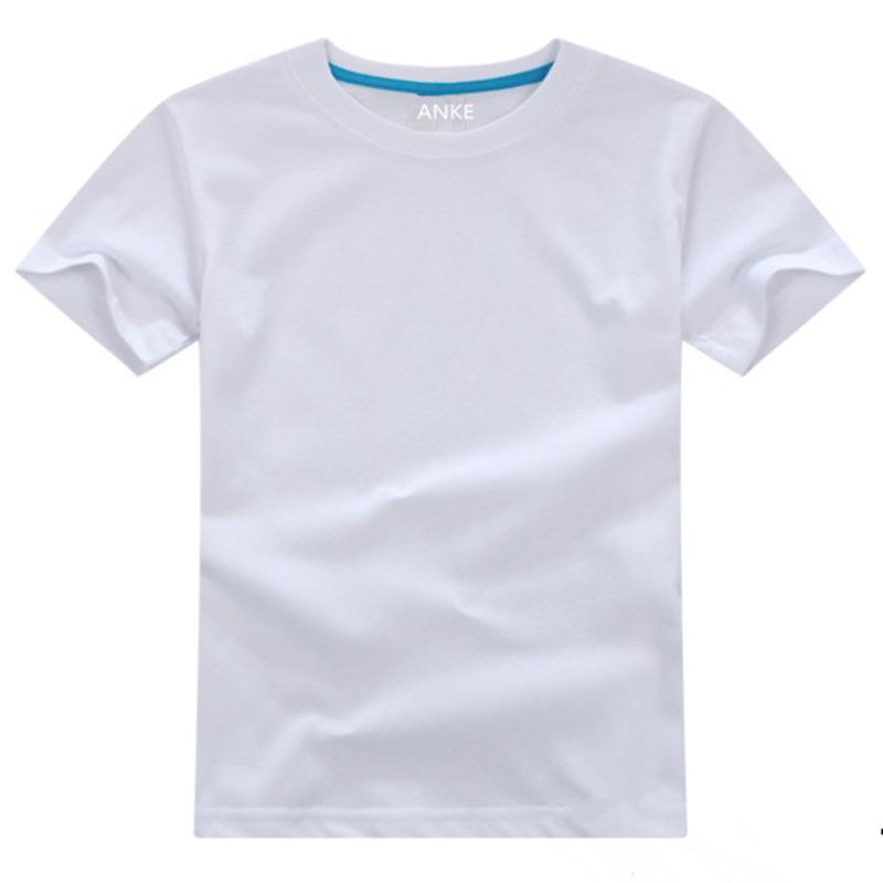 YAUAMDB, camisetas de verano para niños Y niñas de 3 a 10 años, camisetas de algodón para niños, ropa de manga corta cómoda de marca sólida Y ropa para niños