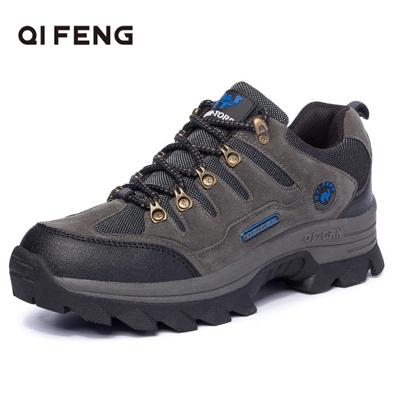 Sapatos de caminhada de alta qualidade novo pro-marca de montanha ao ar livre dos homens esporte trekking calçados mulher montanha rockclimbing atlético sapatos