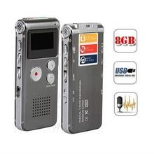 Professionnel 8GB 650Hr numérique Audio/son/enregistreur vocal Dictaphone lecteur MP3 numérique USB stylo denregistrement lecteur Flash disque stylo