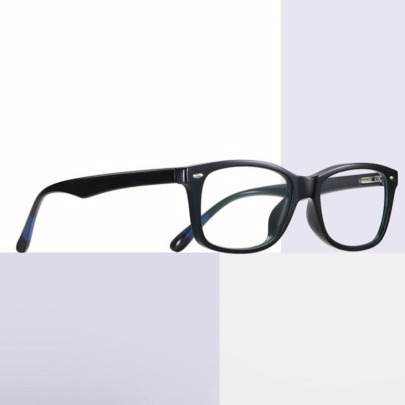 Retro Bijziend Bril Plastic Brilmontuur Anti-Blue Ray Full Rim Eyewear Mannen En Vrouwen Stijl Nieuwe Aankomst