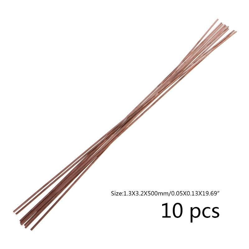 10 шт./компл. электрод низкая Температура фосфористая Медь со сварочными электродами твёрдый припой паяльная со сварочными электродами 1.3X3.2X500mm