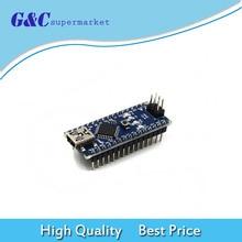 1PCS Nano V3.0 Mini USB ATmega328 5V 16M 100% FT232RL ORIGINAL For Arduino Nano diy electronic