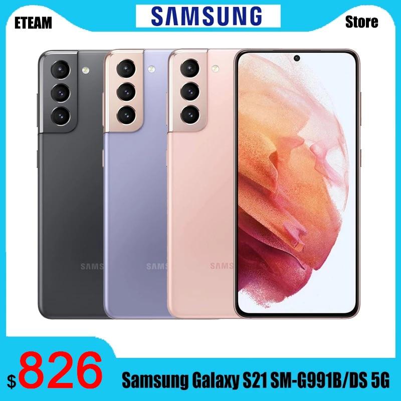 Смартфон Samsung Galaxy S21, телефон, телефон, 8 Гб 256 ГБ 6,2 дюйм 120 Гц Samsung Exynos 2100, NFC IP68