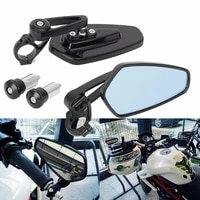 2pcsset 22mm motorcycle scooter handle bar end rear view mirror replacements