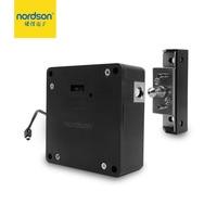 Nordson Original Electronic RFID Hidden Bolt Cabinet Lock Battery Powered Furniture Locker Drawer Lock At Home Gym Swimming Pool