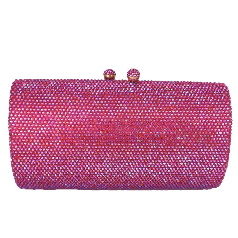 Boutique De FGG-حقيبة يد نسائية من الكريستال الماسي ، حقيبة سهرة ، حقيبة عشاء ، حقيبة زفاف