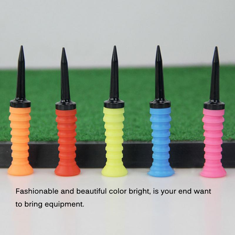 Golf Ball Holder Training Accessory Random Color Supplies Professional Soft Exercises Multicolored g
