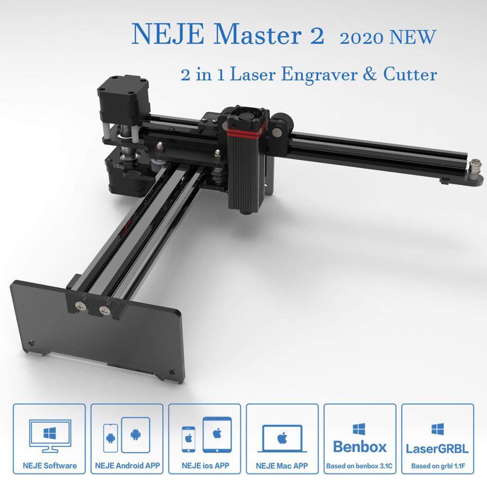 20W desktop lasergraveerder en -snijder - lasergravure en snijmachine - Houtbewerkingsmachines - Foto 2