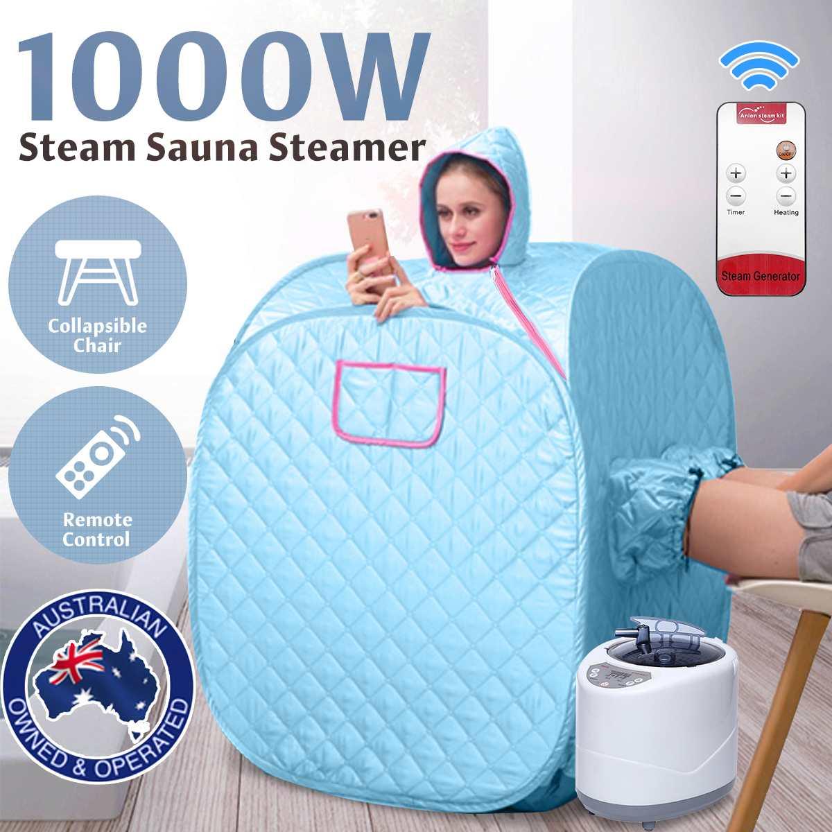Портативная Паровая сауна, спа-комната для домашнего пользования, для похудения, складная Паровая Сауна для Детокс-терапии, генератор сауны