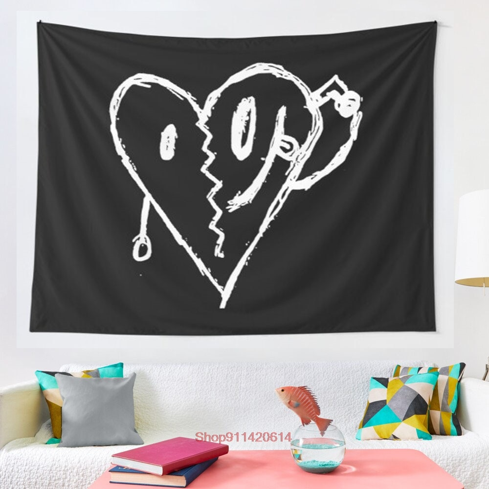 My Heart Hurts tapestry wall decoration Mandala tapestry witchcraft Bohemian Hippie home decoration yoga mat