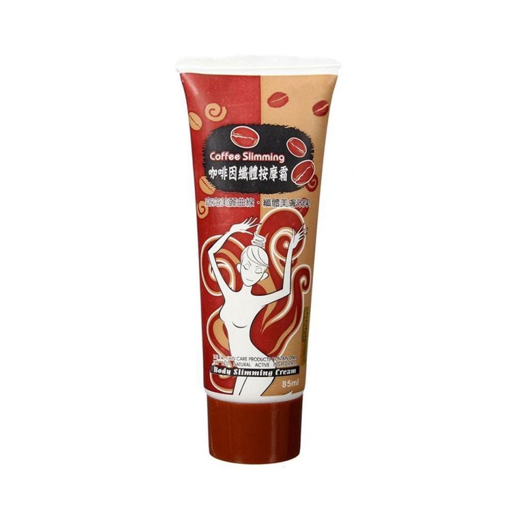 85ml Coffee Fat Burner Body Slimming Cream Leg Body Waist Gel Cellulite Loss Massage Anti Weight Cream Burning Fat Effectiv Q7N5