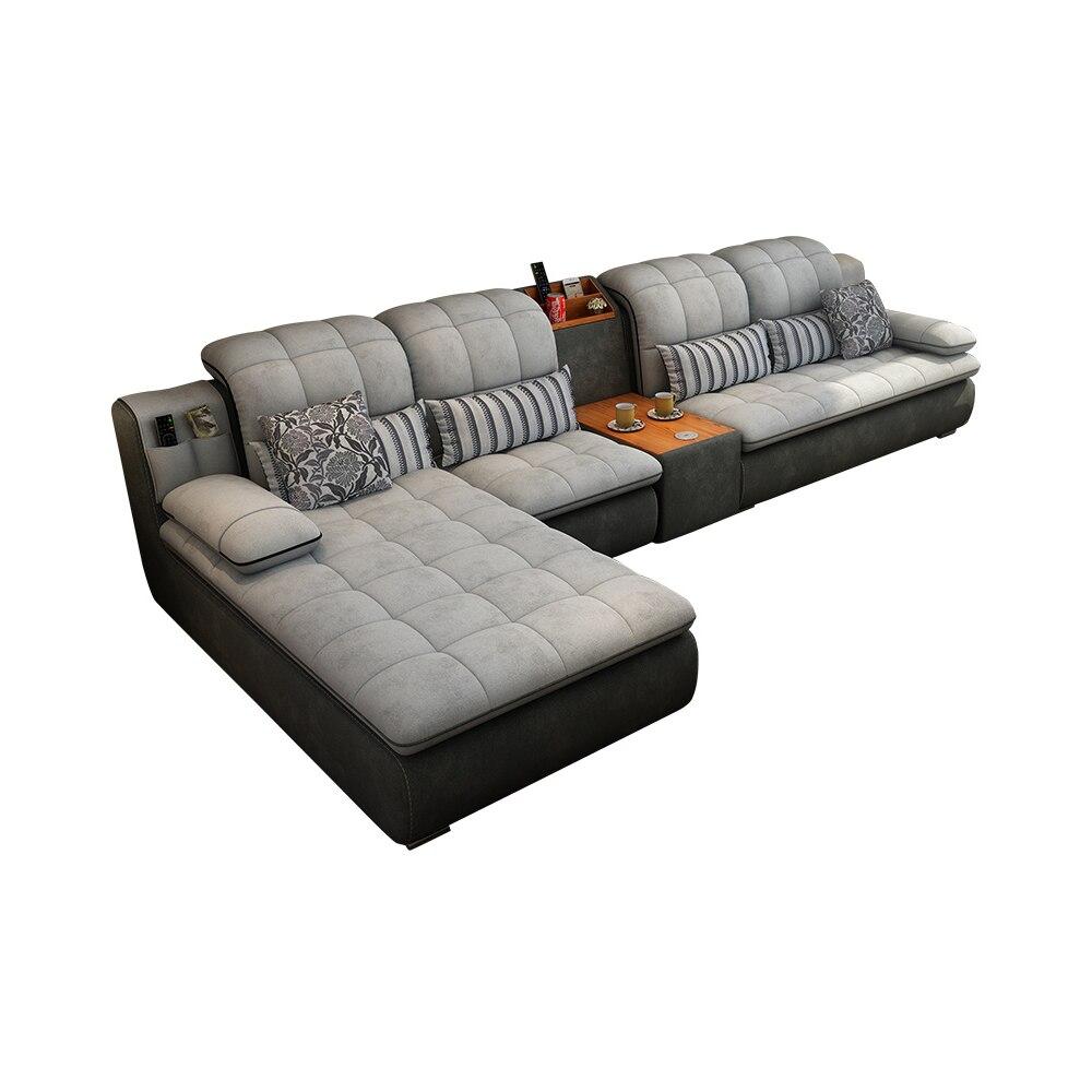 Samt stoff schnitt sofa Wohnzimmer Sofa set möbel alon tasse halter couch puff asiento muebles de sala canape sofa cama