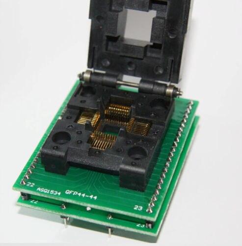 TQFP44 QFP44 PQFP44 Para DIP40 IC Teste Programador Adaptador de Tomada Conversor
