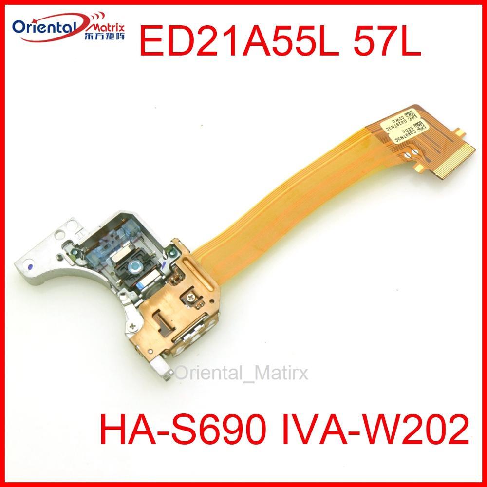 Alpine DVD navegación láser ED21A55L 57L óptica para HondAcr Ford Lincoln coche Chrysler de Audio navegación DHA-S690 IVA-W202