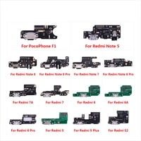 for xiaomi pocophone f1 redmi note 8 7 6 5 pro plus 7a 6a s2 usb charger board port connector dock charging flex cable