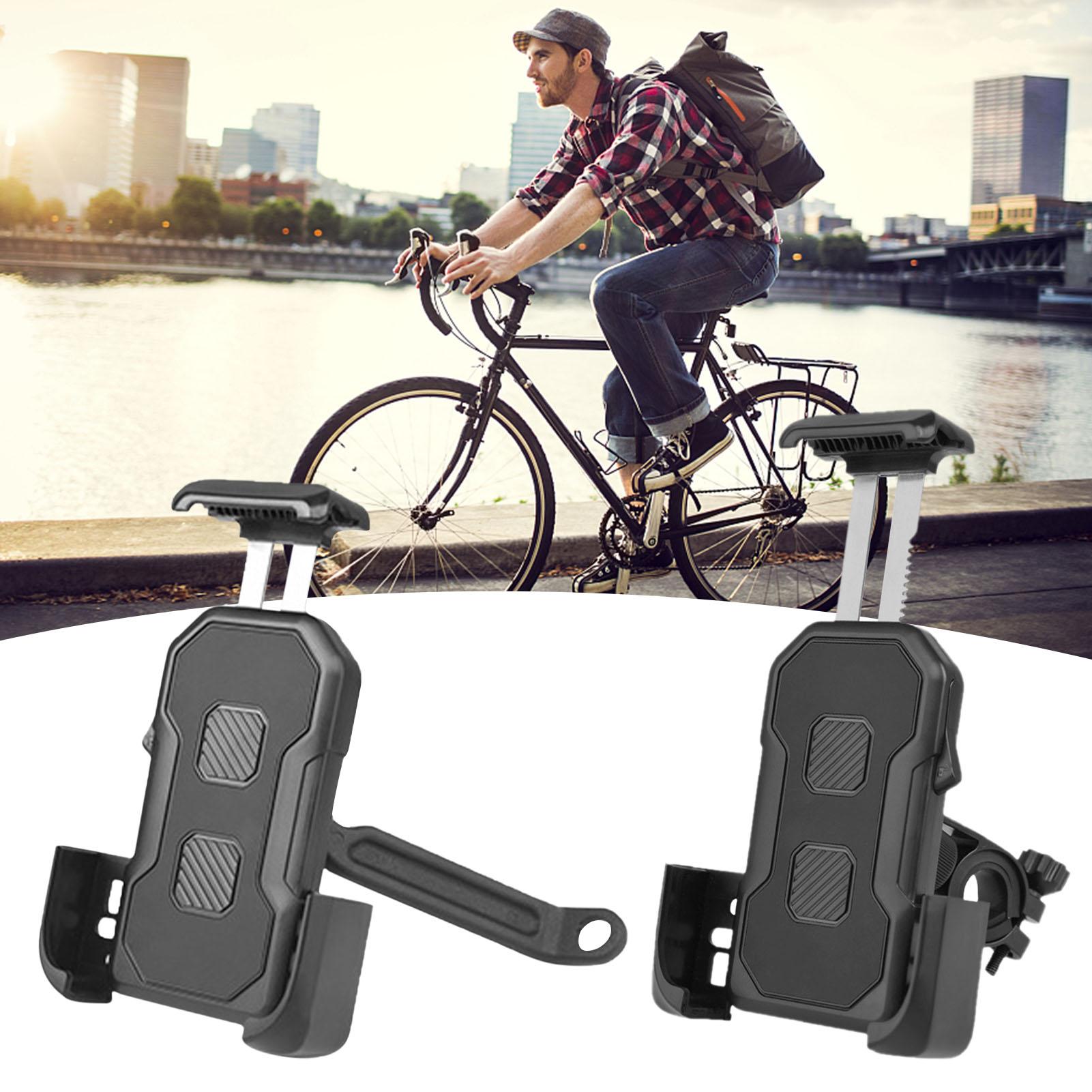 Universal Cycling Mobile Phone Holder Waterproof Bracket Adjustable Bicycle Holder MTB Cycling Phone Non-slip Bracket