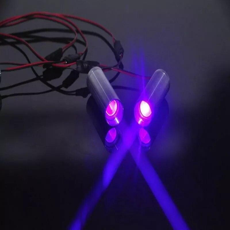 2шт жир луч 405 нм 250 мВт фиолетовый синий лазер точка модуль KTV DJ бар сцена освещение