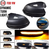for vw passat b7 cc beetle scirocco jetta mk6 dynamic car lights led blinker side mirror marker turn signal light accessories