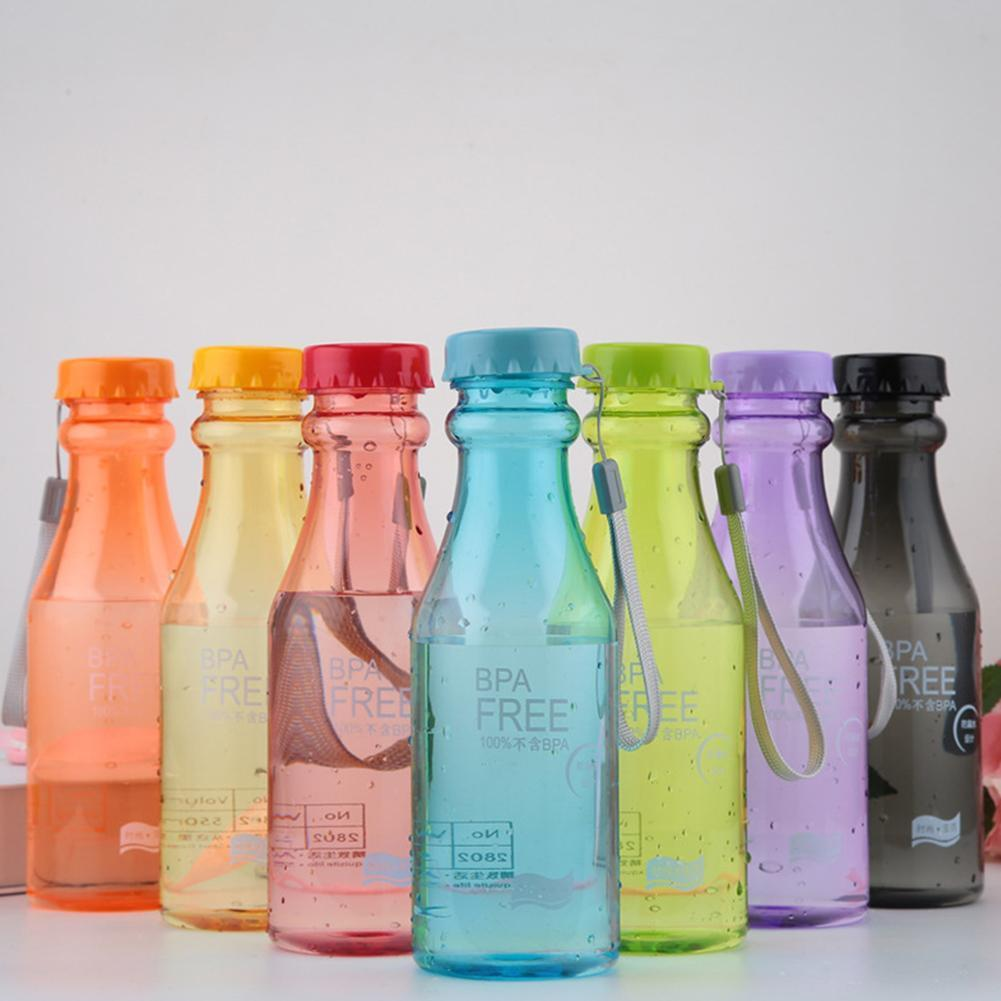 2021 New Water Cup Outdoor Sports Water Bottle Travel Portable Leak Proof Camping Water Cup 550Ml