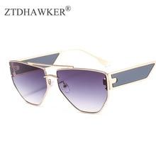 New Metal Small Piece Decorative Punk Sunglasses for Women Wild Spectacles Unisex Eyeglasses
