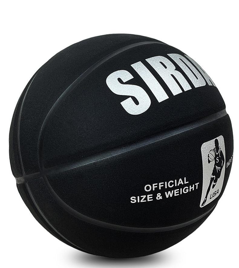 Противоскользящий баскетбольный мяч для помещений, водонепроницаемый, Размер 7, профессиональный баскетбольный мяч #7, износостойкий, мягки...