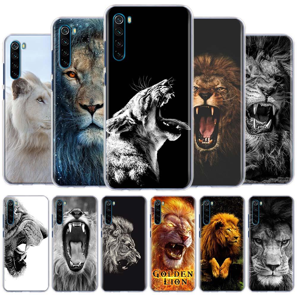 Big Lion Kühle Telefon Fall für Xiaomi Redmi Hinweis 9 Pro 9S 6 7 8 Pro 8T 6 6A 7A 8A 9A 9C K20 K30 Pro Harte Fall Coque