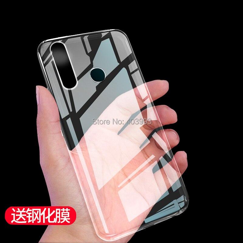 "For Lenovo K10 Note Case Lenovo K 10 Note Clear Case Transparent Crystal TPU Soft Cover Case For Lenovo K10 Note K10Note 6.3"""