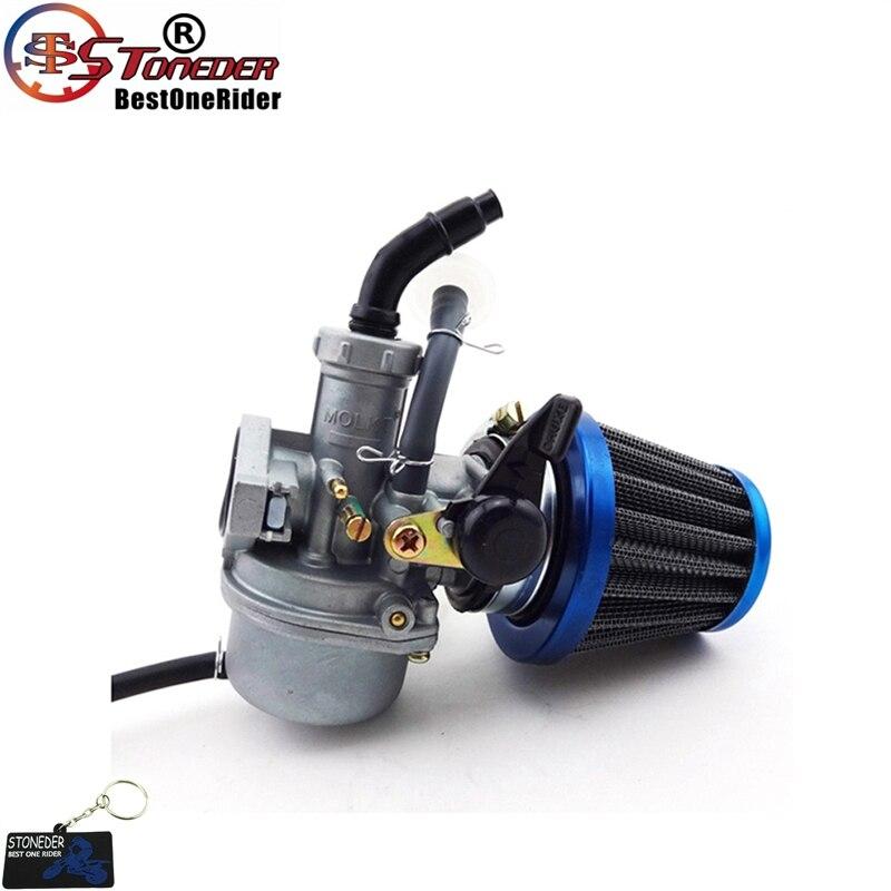 STONEDER PZ22 карбюратор 38 мм воздушный фильтр для 110cc 125cc двигатель китайский ATV Quad Pit Pro Dirt Trail велосипед мотоцикл