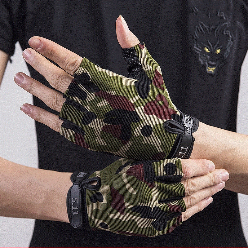 Tactical Gloves for Hunting tactical men gloves cycling fingerless the bike accessories bicycle hunt