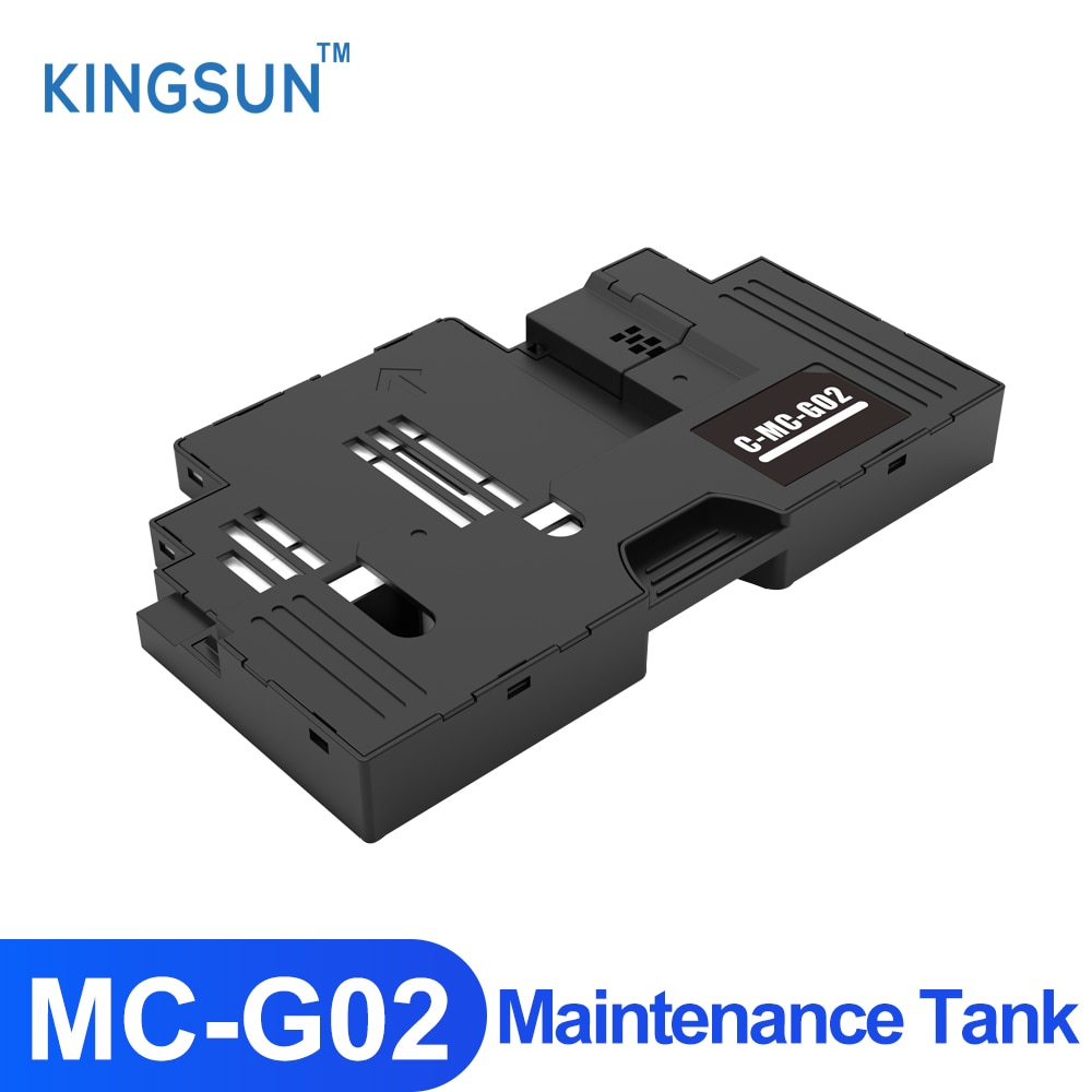 Фото - MC-G02 Maintenance tank with chip for Canon PIXMA G2160 G3160 G1220 G2260 G3260 G1420 G2420 G1520 G2520 Printer Waste Ink Tank ocbestjet maintenance tank resetter for