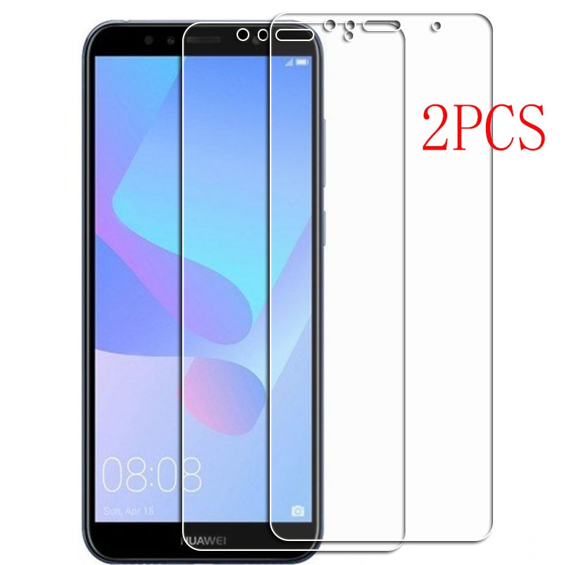 For Huawei Y6 Prime 2018 Tempered Glass Protective ON Y6Prime ATU-L11, ATU-LX3 5.7INCH Screen Protector Phone Cover Film