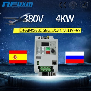 For Russian 380V 0.75kw-4kw 3-phase input 3-phase output universal frequency inverter VFD