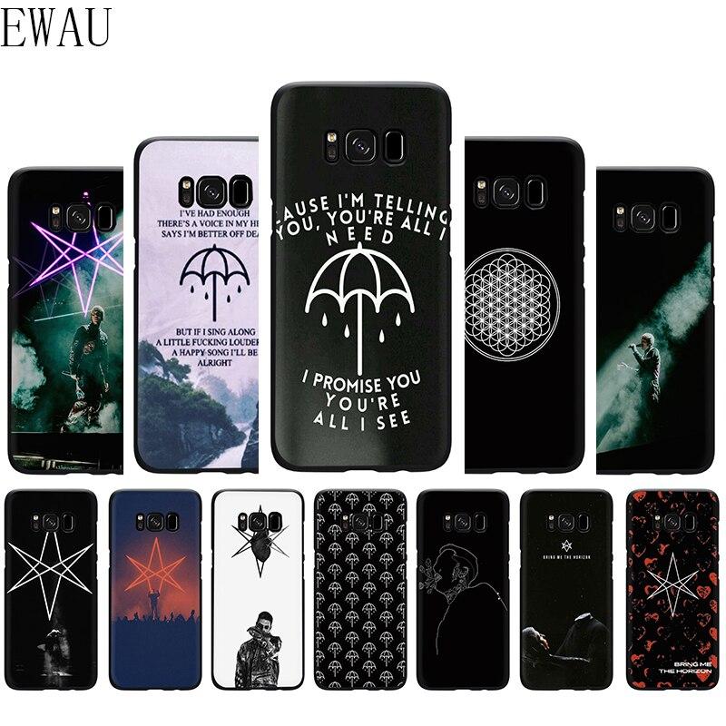 EWAU Die bringen mich horizon BMTH Silikon Telefon Abdeckung Fall für Samsung S6 S7 Rand S8 S9 S10 S10e Hinweis 8 9 10 plus M10 M20 M30 M40